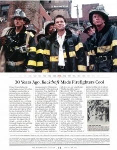 Backdraft: The Hollywood Reporter