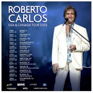 Roberto Carlos Coming to the Forum May 21
